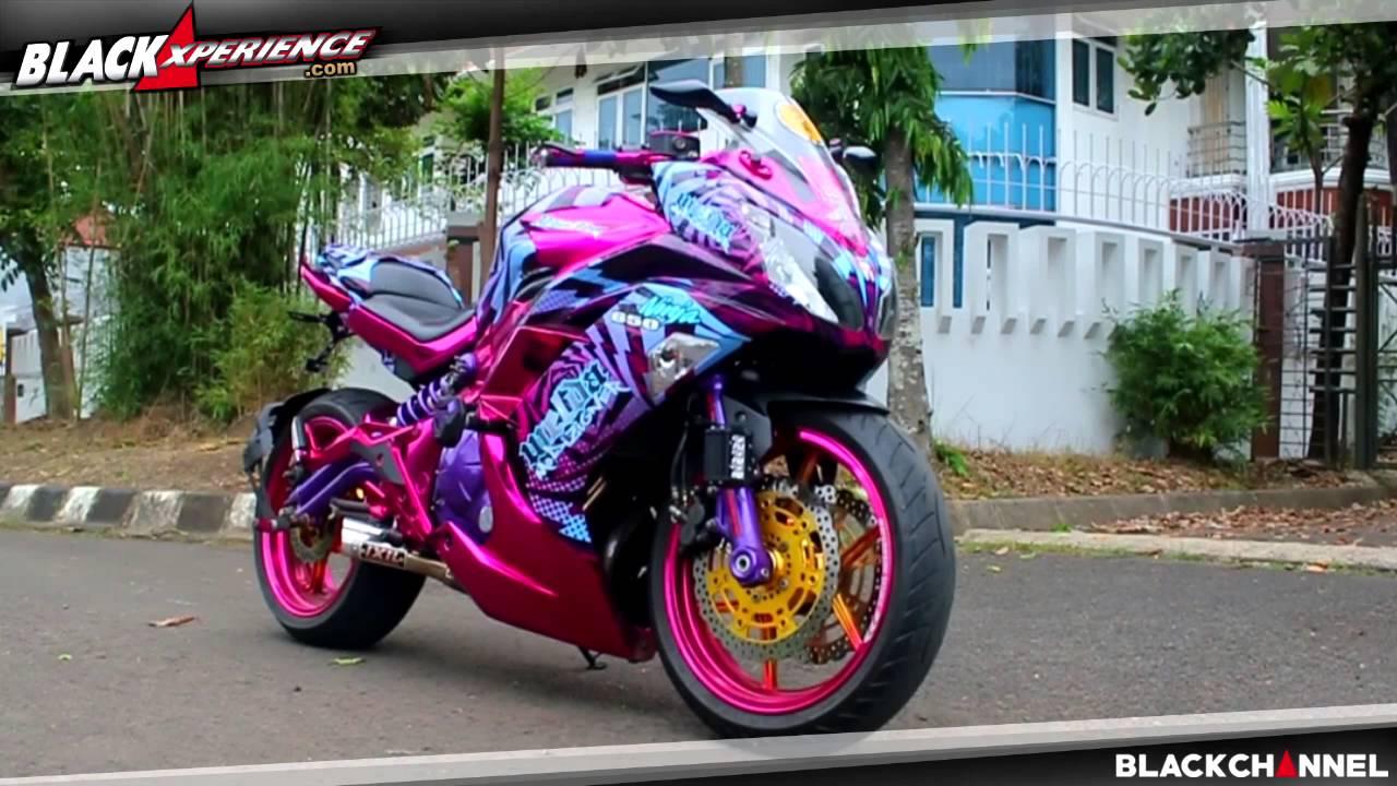 Modifikasi Kawasaki Ninja 650 Kombinasi Antara Garang Dan Anggun Youtube