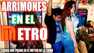 Repeat youtube video ARRIMONES EN EL METRO | COSAS QUE PASAN EL METRO | FREAAK SHOOW