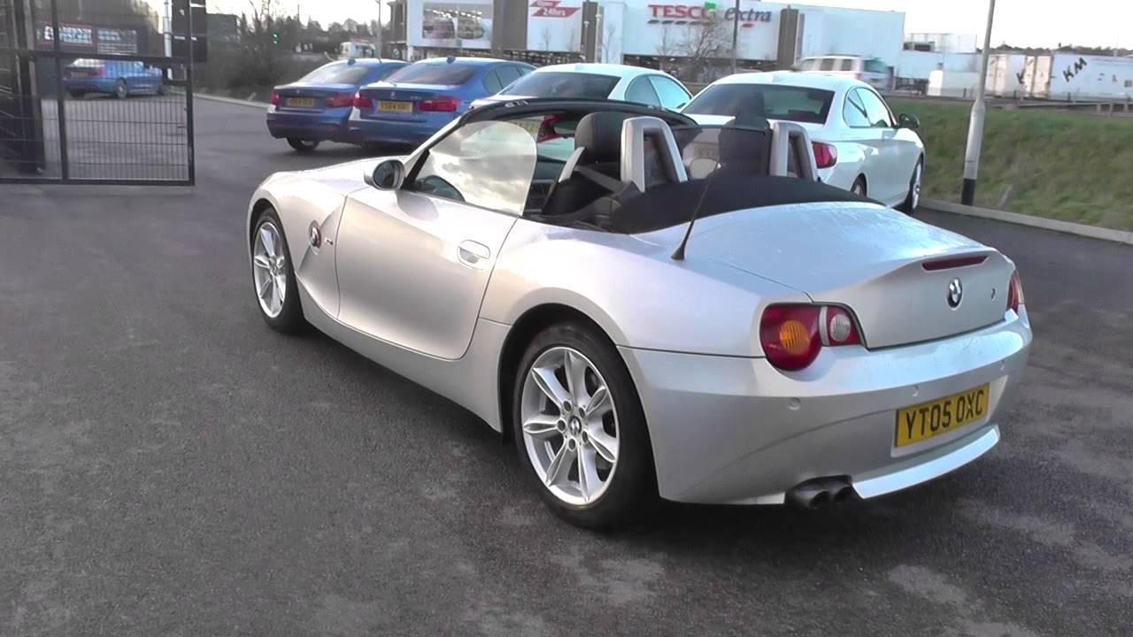 BMW Z4 (E85) Z4 3.0i SE Roadster M54 3.0 0 2004 U12667   YouTube