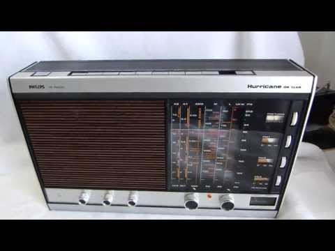 1970's Philips Hurricane Deluxe IC radio made in Germany