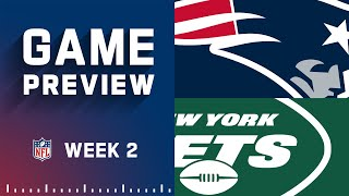 New England Patriots vs. New York Jets   Week 2 NFL Game Preview