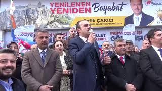 Video  Mahmut Coşkun - Boyabat Ak Parti \Kutlu Yürüyüşü\