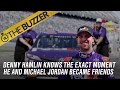 Denny Hamlin is friends with Michael Jordan | @TheBuzzer | FOX SPORTS