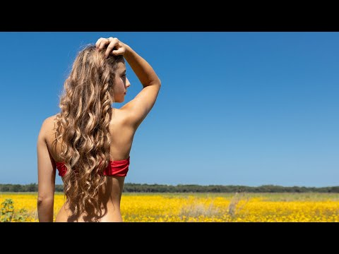 Summer Day - Modeling Swimsuit and Nature Video