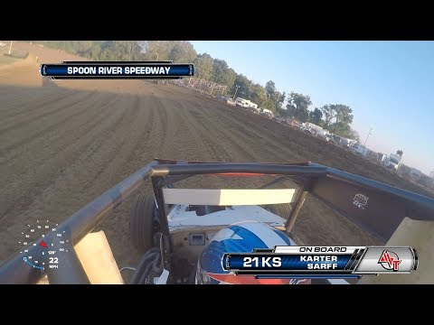 9/15/18 Karter Sarff On-Board at Spoon River Speedway