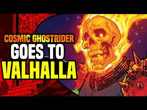 Cosmic Ghost Rider Sees All Of Thanos' Evil Deeds ( What Happened After He Was Destroyed )