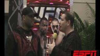 UFC 108: GILBERT YVEL on his troubled past w/Cofield from ESPNRadio1100