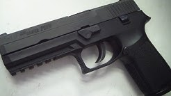 Sig Sauer p250  45 acp (HD close up)