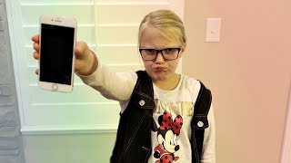 TOO YOUNG FOR A PHONE?!