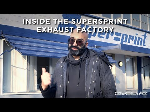 Inside the Supersprint Exhaust Factory