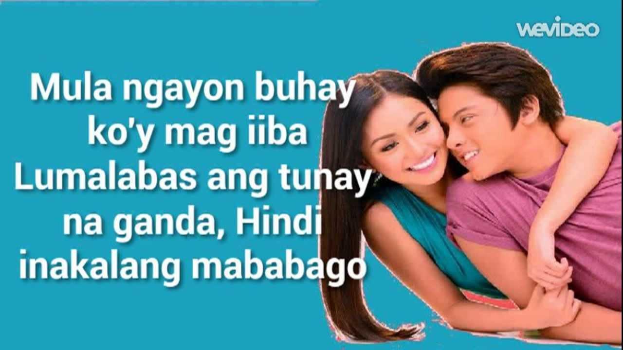 Nagkakulay Ang Mundo Lyrics Video Kathryn Bernardo Daniel