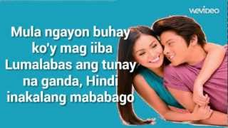 Repeat youtube video Nagkakulay Ang Mundo (Lyrics Video) - Kathryn Bernardo & Daniel Padilla