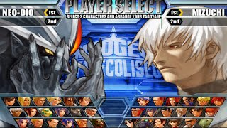 NeoGeo Battle Coliseum Opening and All Characters [PS2]
