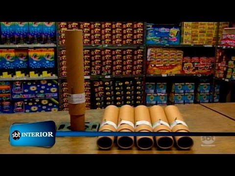 Araçatuba:Comerciante de fogos de artifício reagem à Lei que proíbe uso do produto