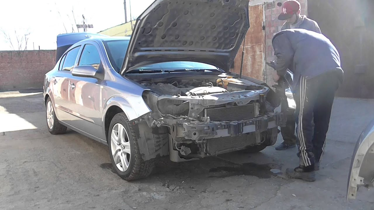 Купить бамперы, бампер силовой, бампер тюнинговый для легковых авто и. Бампер передний опель астра h (astra h) 2007-2010г (рестайлинг).