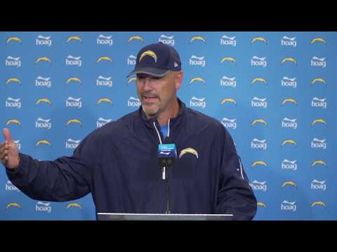 #Chargers LIVE: Defensive Coordinator Gus Bradley addresses the media.
