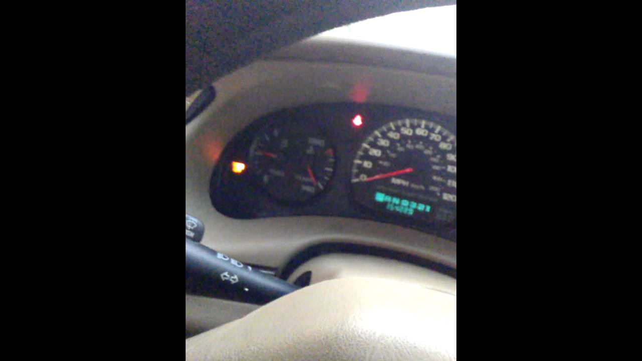 2000 Impala Ls Cluster Bcm Cal Error Youtube Wiring Schematic