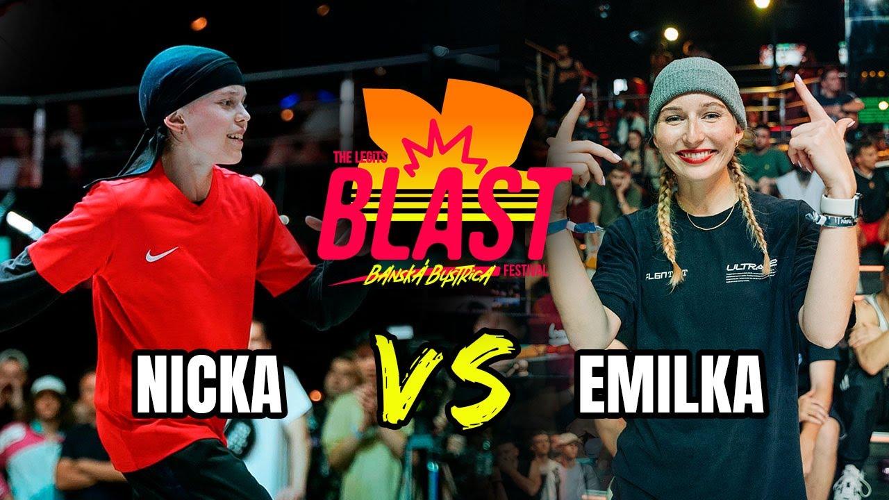B-Girl Nicka vs B-Girl Emilka   Outbreak Europe   The Legits Blast 2021