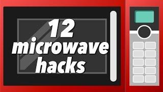 12の電子レンジ技!ゆで卵やポップコーン、料理もできちゃう/12 useful microwave lifehacks!【レンジを使ったライフハックまとめ動画】 thumbnail