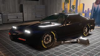IMPONTE RUINER 2000 CUSTOMIZE SPECIAL VEHICLE [KNIGHT RIDER] - GTA 5 ONLINE IMPORT/EXPORT DLC