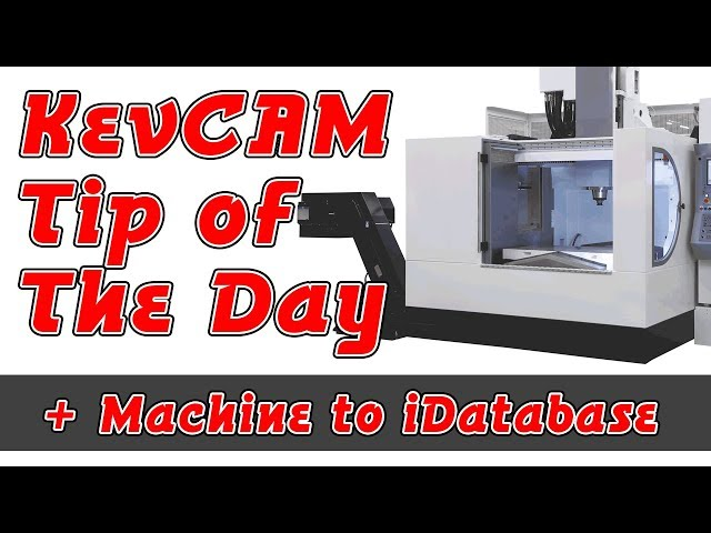 Tip of the Day - Add a Machine to iData Base
