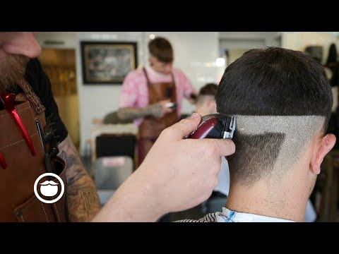 Men's Skin Fade Faux Hawk Haircut