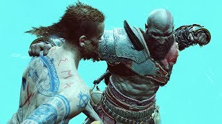 God of War 4 2018 Return To the Summit No Damage Walkthrough Part 50 PS4 PRO