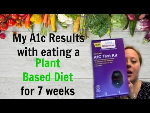 My Live Diabetes A1c Test after 7 weeks eating a Plant Based Diet w/ Eat To Live