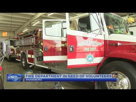 Swansboro Fire Department needs volunteers to keep insurance rating