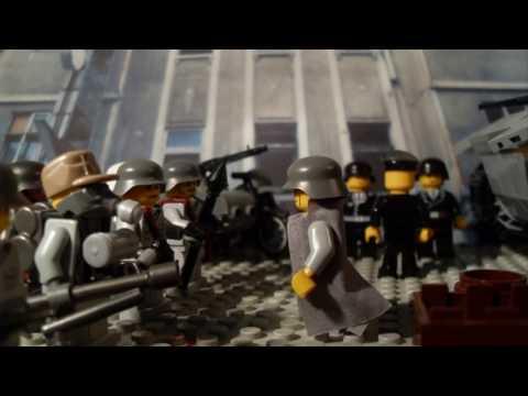 "WW2 Lego Battle of Budapest 1944 ""T-34 Tank Attack"""