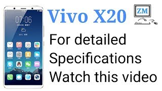 Vivo X20 - Price - Review - specifications & features