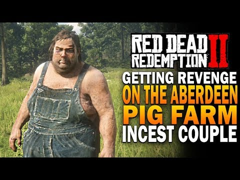 Getting Revenge On The Aberdeen Pig Farm Incest Couple! Red Dead Redemption 2 [RDR2] thumbnail