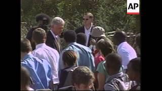 BOTSWANA: GABORONE: US PRESIDENT CLINTON VISIT UPDATE