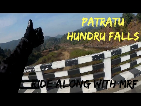 Ride Along with MRF | Patratu | Hundru Falls | Republic Day |Ranchi | DAY-2