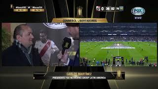 Carlos Martínez   Todo el mundo está viendo este evento    FOX Sports