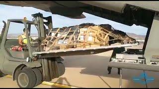 Ejército reparte material sanitario en las Islas Canarias