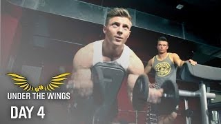 Steve Cook - DAY 4 - Arms - UNDER THE WINGS