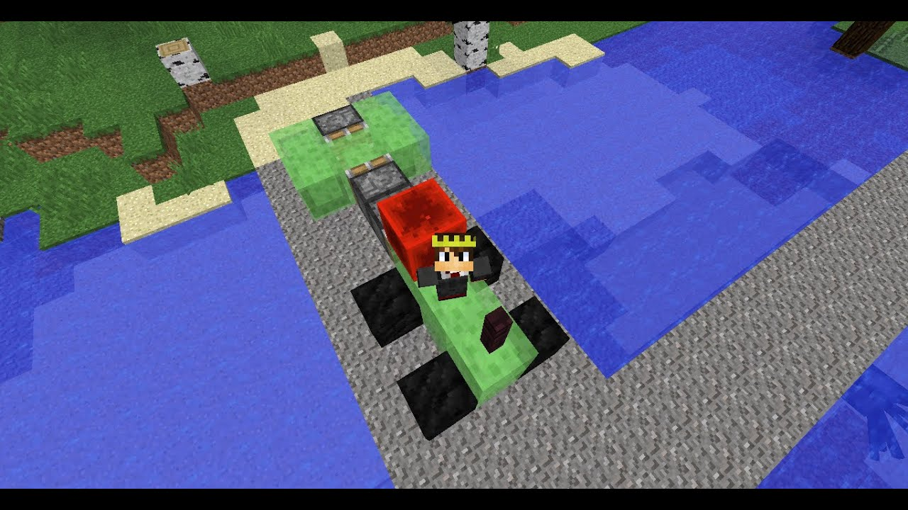 How to make a working train in minecraft pe no mods