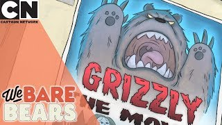 We Bare Bears | Using a Fake Bear | Cartoon Network