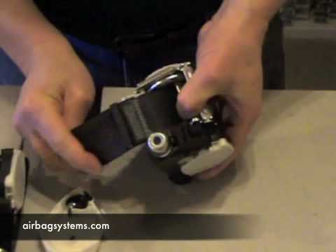 Airbag Systems How To Repair A Sealtbelt Pre Tensioner