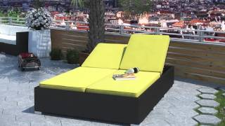 Evince Outdoor Patio Chaise