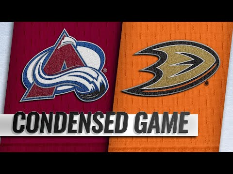 11/18/18 Condensed Game: Avalanche @ Ducks