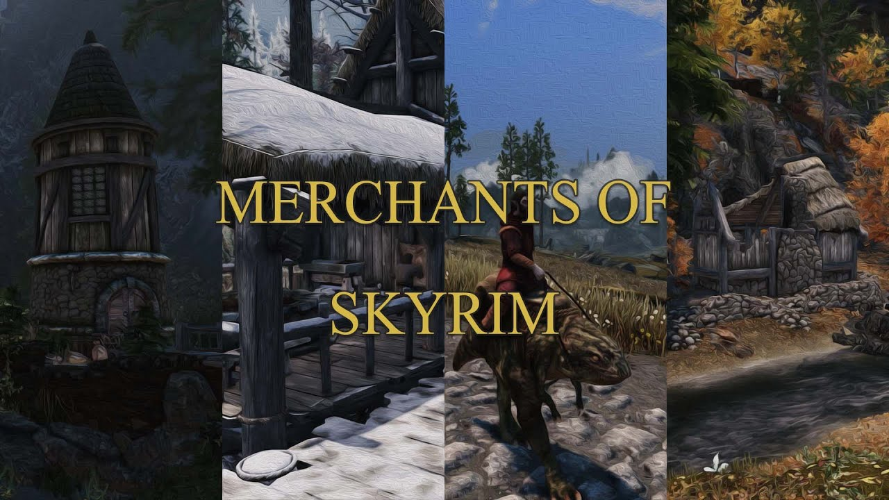 Merchants of Skyrim Released