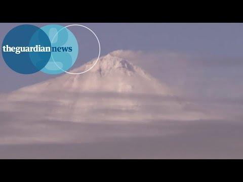 Research Vessel In Antarctica Captures Rare Footage Of Volcano Erupting