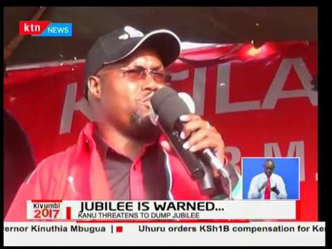 KANU leaders threaten to shift support to NASA