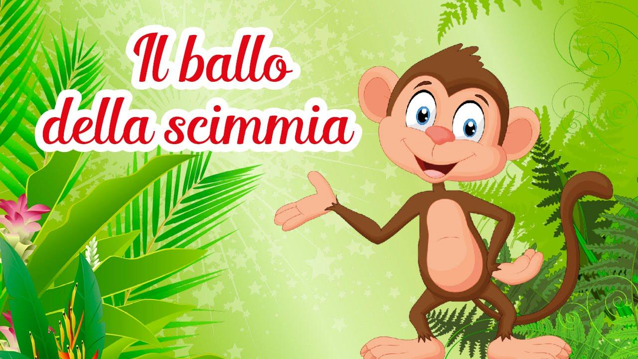 Il Ballo Della Scimmia Canzoni Per Bambini Melamusictv Youtube