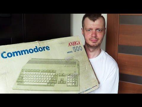 46# Zakup Amiga 500 z plombami - Unboxing!
