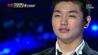 SBS [KPOPSTAR3] - TOP3 생방송, 샘김의 '허니(HONEY)'