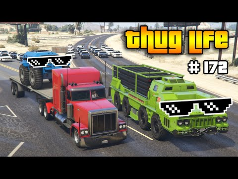 GTA 5 THUG LIFE AND FUNNY MOMENTS (Wins, Stunts And Fails #171)