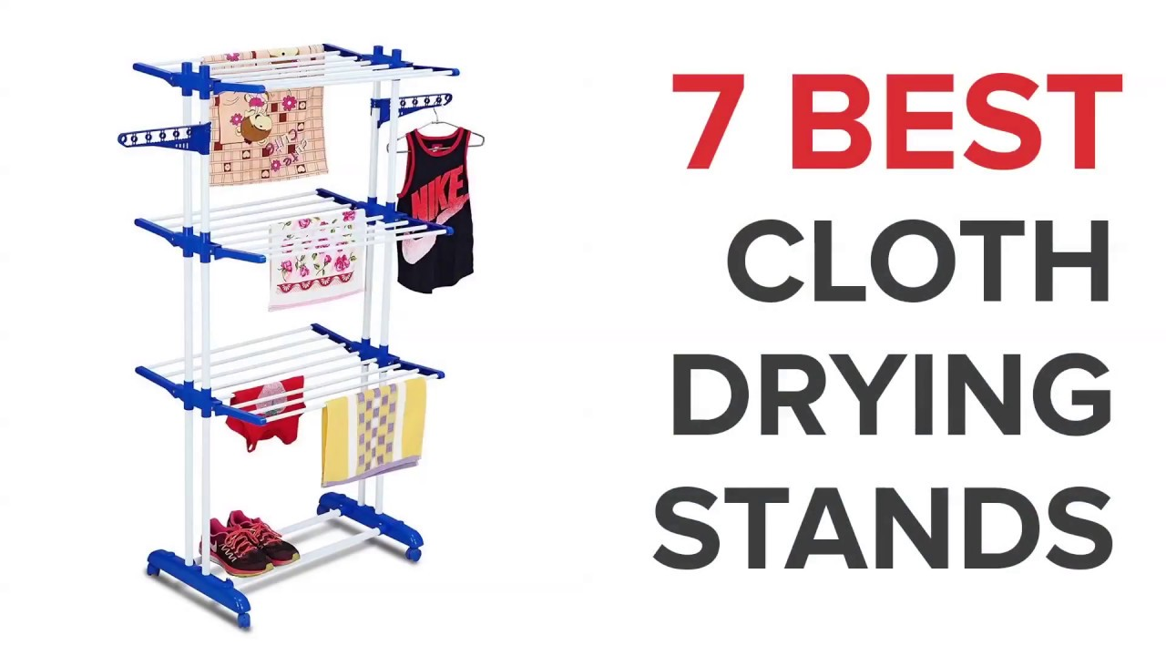 7 Best Cloth Drying Stands in India - YouTube